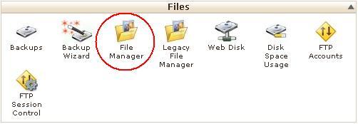 آپلود فایل توسط File Manager در کنترل پنل cPanel (سی پنل)